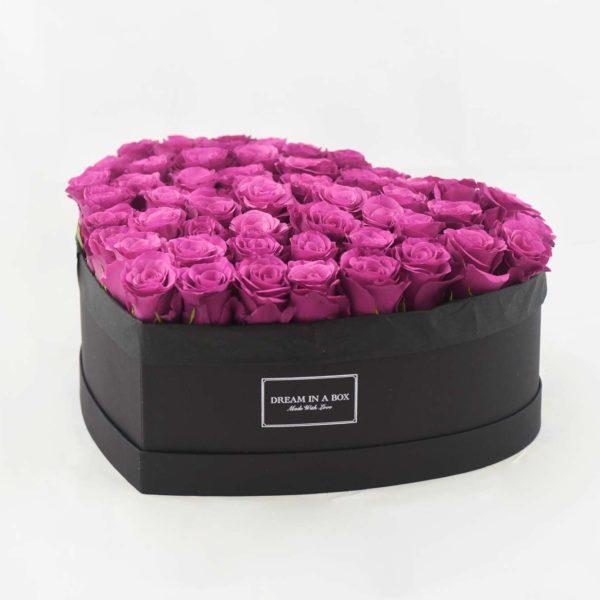 Dream of You scatola nera con rose berry a incasso verticale