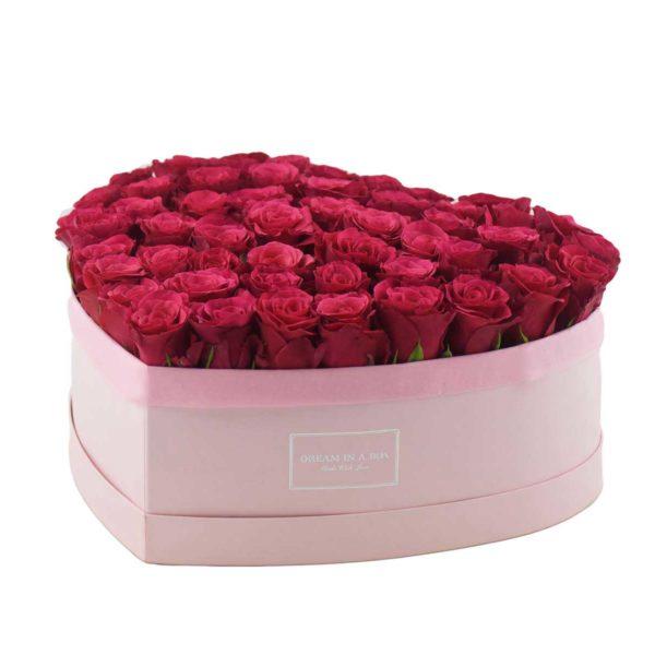 Dream of You scatola rosa con fiori incasso verticale